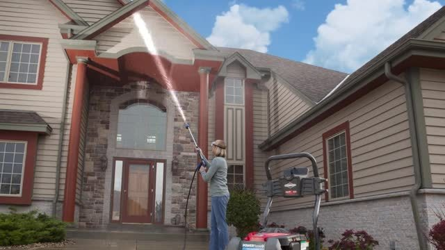 Briggs Power Washer Second Story