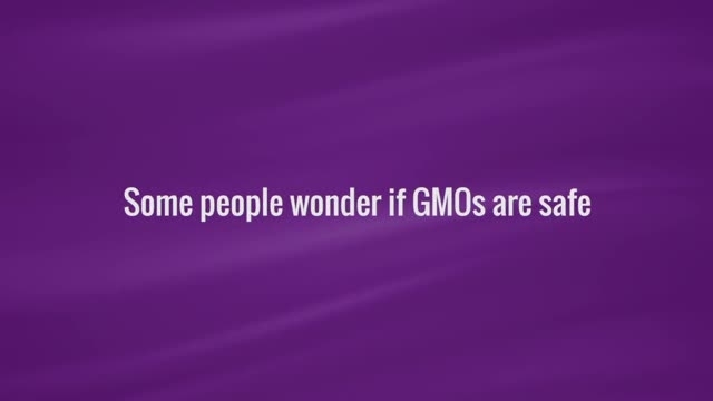 """People asked, """"are GMO foods safe?"""" They were surprised to learn the facts."""