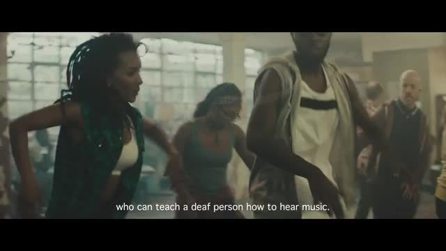 Deaf dance instructor Chris Fonseca and Smirnoff ICE Electric Flavors 'keep it moving' in new ad campaign