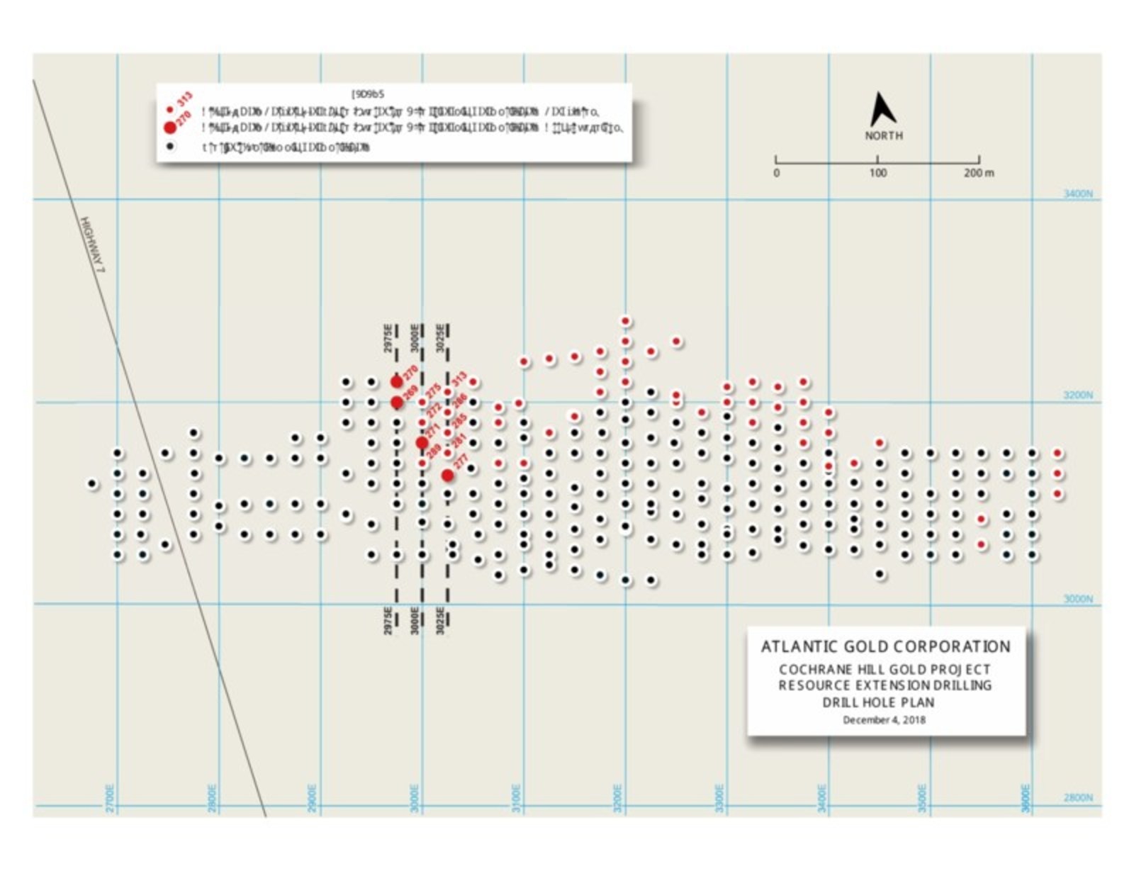Cochrane Hill Drill Plan Map and Sections