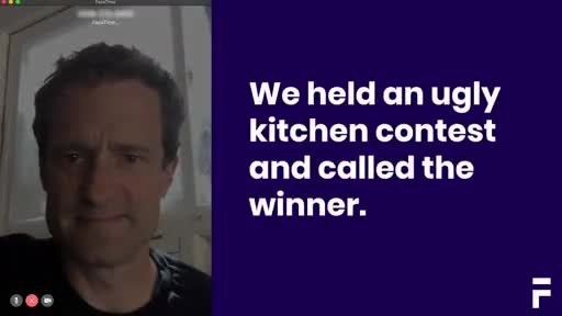 Figure's Ugliest Kitchen Contest - 60 Seconds. This video features Robin Kidwell, 69, winner of the $25,000 Ugly Kitchen contest.