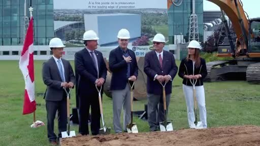 Construction begins on Library and Archives Canada's new preservation facility