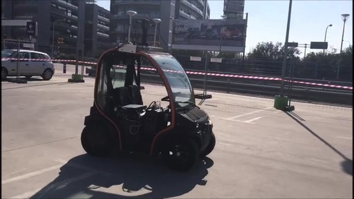 DragonFly Pod, PerceptIn's autonomous vehicle is running in Valencia, Spain