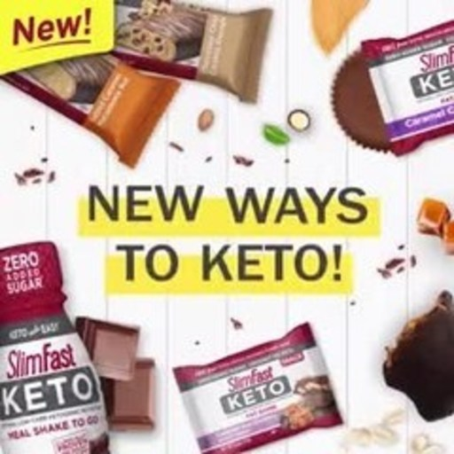 SlimFast Keto line expands with 13 NEW products!