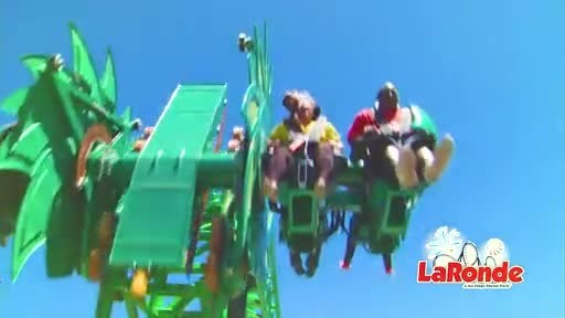 Vipère, Canada's First Ever Free-Fly Roller Coaster