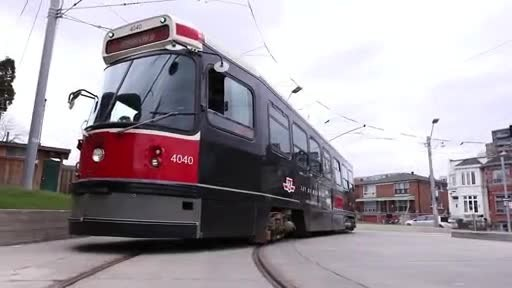 Day of Mourning streetcar