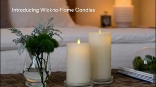 Redefining Flameless Candles, Wick-to-Flame, by LightLi, introduces innovation and technology that enable flameless candles to look astonishingly realistic when off and on. For Business Inquiries, please contact L&L Candle Co. hello@llcandle.com