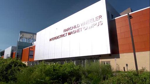 A closer look at Fairchild Wheeler Inter-District Magnet Campus.