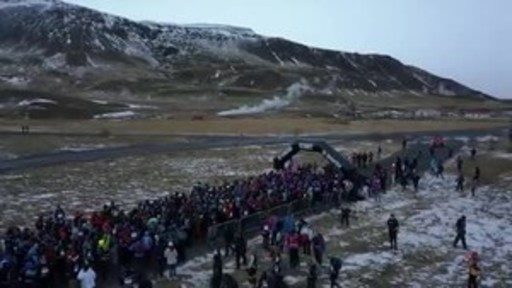 Near Hurricane Force Winds, Rain, Sleet and Snow Under the Glow of the Northern Lights Mark Inaugural Spartan Ultra Endurance Event in Iceland