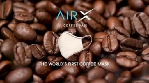 AirX, the world's first ever coffee mask which is reusable, eco-friendly, antibacterial and stylish