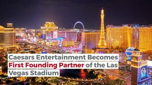 Caesars Entertainment Raiders partnership las vegas