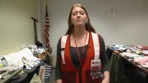 With regard to in-kind donations, the Red Cross is currently seeking community partners to help support the anticipated generous donations of clothing and other items. The quickest and best way to help those affected by disasters big and small is to make a donation to support Red Cross Disaster Relief at redcross.org.
