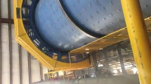 VIDEO: Ball Mill Turning at MRC Gold Mine