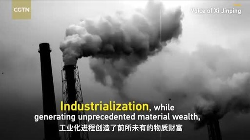 Xi Jinping se inspira em textos clássicos em um apelo por maior harmonia entre os seres humanos e a natureza