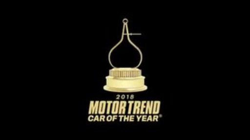 2018 MOTOR TREND of the Year Award Winners