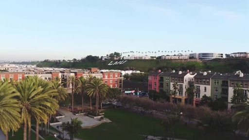 Aerial footage of Loyola Marymount University and Playa Vista, featuring the university's new Silicon Beach campus in the Brickyard building. For access to this or other b-roll footage, contact mason.stockstill@lmu.edu.