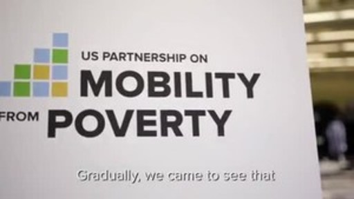 The US Partnership on Mobility from Poverty's five strategies