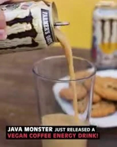 Foodbeast News Video about Java Monster Farmer's Oats.