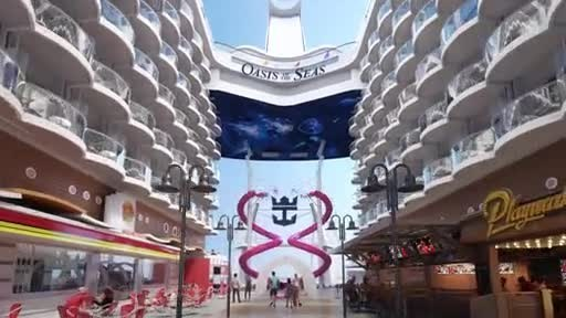 The ship that revolutionized the cruise industry, Oasis of the Seas, marks its 10-year anniversary with a larger-than-ever, $165 million amplification. The first to introduce the unique seven-neighborhood concept, Royal Caribbean's original gamechanger will set a new standard for family vacations in November 2019 with first-to-brand experiences and the latest Royal Caribbean hits.