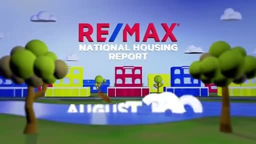 RE/MAX National Housing Report for August 2020