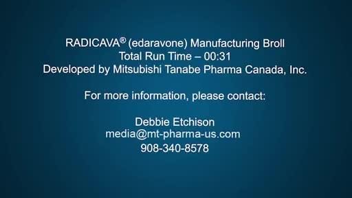 RADICAVA Manufacturing.