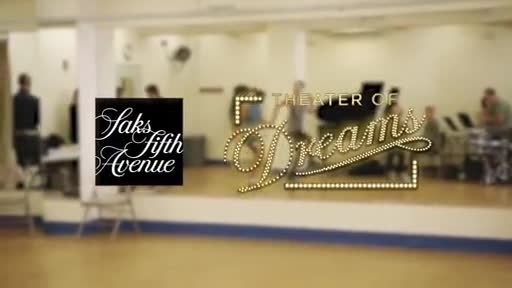 """SAKS FIFTH AVENUE reveals """"THEATER OF DREAMS"""" holiday window concept in partnership with BROADWAY CARES/EQUITY FIGHTS AIDS"""