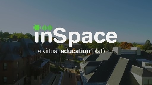 See how InSpace works in this short video. Imagine having one-on-one conversations and group discussions, breakout rooms and presentations, all in one beautiful virtual space? Better yet, picture an online environment where students and teachers can interact and collaborate seamlessly just as they do in real classrooms and labs? That's InSpace. It's a remarkably elegant approach to virtual education and an exciting example of disruptive technology at work.
