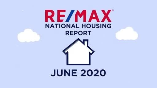RE/MAX National Housing Report for June 2020