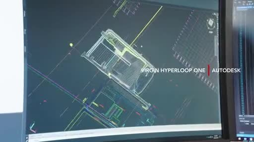 Autodesk And Virgin Hyperloop One Announce Joint-Effort To Explore Advanced Route Optimization, Transportation Design, And Construction Technology