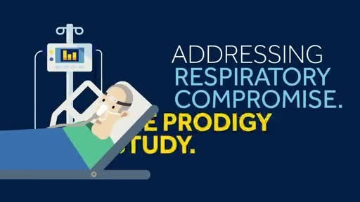Primary data from the PRODIGY (PRediction of Opioid-induced respiratory Depression In patients monitored by capnoGraphY) study found that respiratory depression, as defined by changes in pulse oximetry and capnography monitoring parameters, occurred in 46% of medical and surgical patients evaluated who were receiving IV opioids for pain.