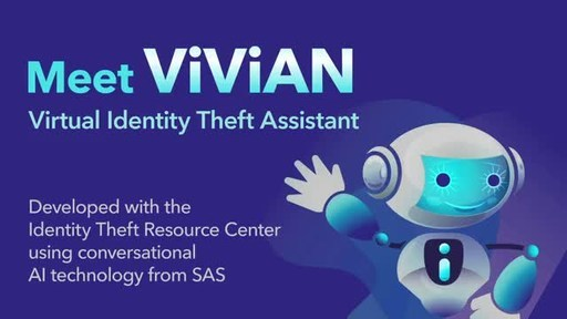 The Identity Theft Resource Center's AI-driven chatbot offers empathetic, human-like support of identity crime victims 24/7.
