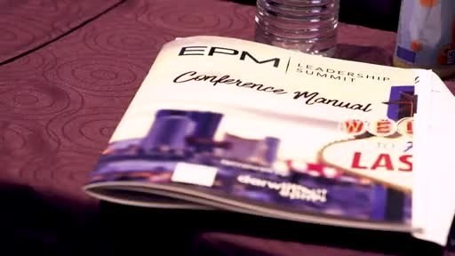 Why Attend the 2019 EPM LEADERSHIP SUMMIT? There are many reasons; here are just a few...