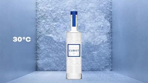 Phillips Distilling Company Introduces Cubist™ Freezer Vodka™...