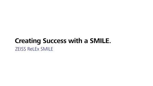 ZEISS establishes the patented SMILE technology with 1.5 million laser vision corrections worldwide
