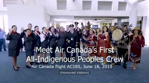 Air Canada Proudly Salutes its Indigenous Employees on National Indigenous Peoples Day