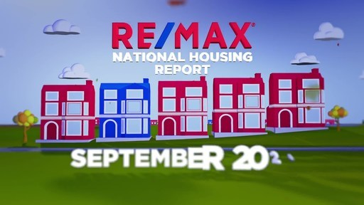 RE/MAX National Housing Report for September 2020