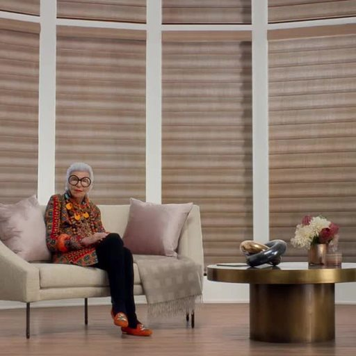 New Hunter Douglas Ad Campaign Pairs Style Icon Iris Apfel With ...