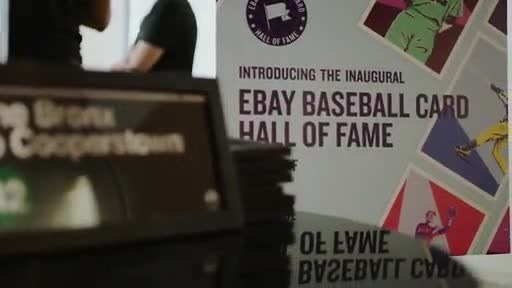 eBay announced the inaugural class of its Baseball Card Hall of Fame and an exclusive Mariano Rivera Collection.
