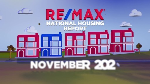 RE/MAX National Housing Report for November 2020