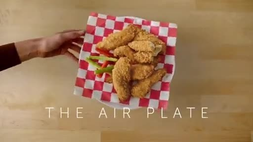 To celebrate the launch of new Tyson® Air Fried Chicken, the Tyson® brand is elevating mealtime with a unique giveaway – a plate that actually levitates.
