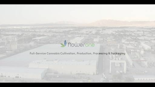 Video: Flower One's fully operational 400,000 square foot greenhouse and 55,000 square foot processing and custom packaging facility in Nevada.