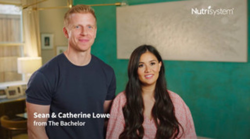 Reality Television Sweethearts, Sean and Catherine Lowe, Reveal Weight Loss Results in New Nutrisystem Partner Plan Commercial