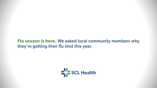 SCL Health And Community Leaders Encourage 2020 Flu Shots