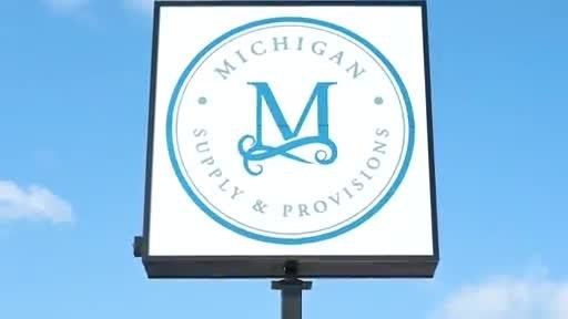 A virtual tour of Michigan Supply & Provisions' first store opening in Morenci, Mich.
