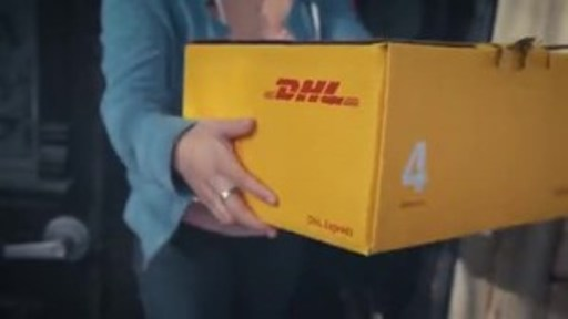 DHL teams up with WE