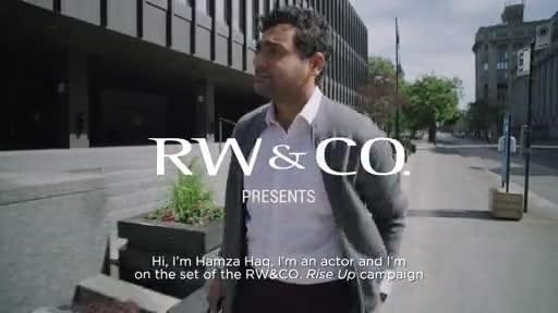 RW&有限公司与直播主持人米凯拉·香农和演员哈姆扎·哈克合作出演2021年秋季剧