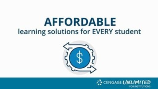 As the Pandemic Moves Education Online, Colleges and Universities Turn to Cengage Unlimited for Affordable, Quality Digital Learning at Scale