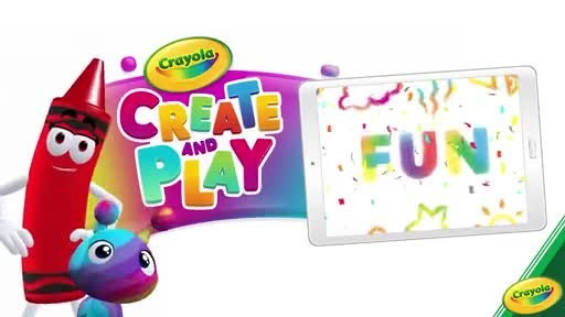 Play With Purpose: Crayola Launches Create and Play Creative App For Kids