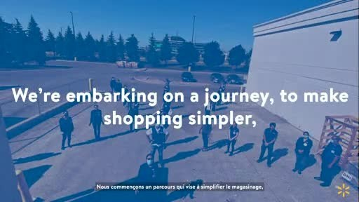 Walmart Canada announces major $3.5 billion investment for growth and customer experience transformation.