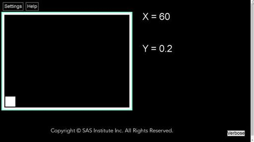 With SAS Graphics Accelerator, sonification is used to present a histogram to the visually impaired.